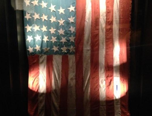 POW flag WWII texas