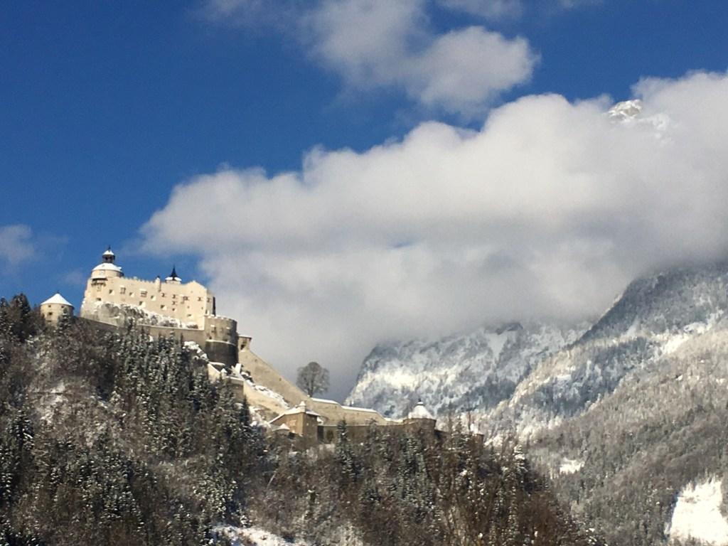 castle salzburg austria drive