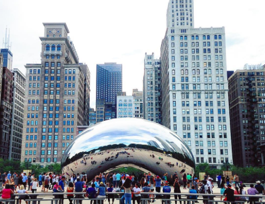 chicago bean summer photo