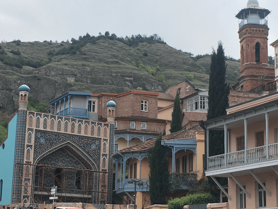 old city views tbilisi