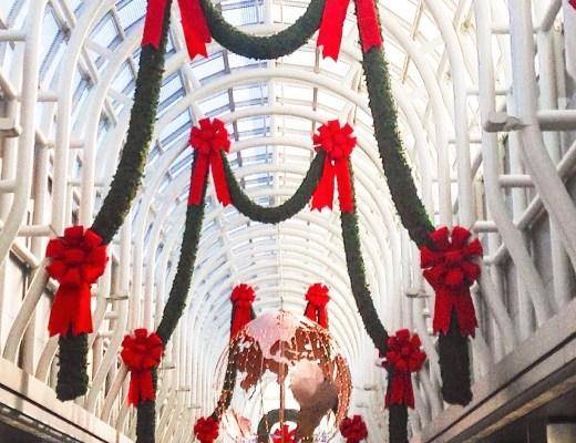 chicago ohare christmas