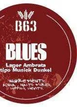 B63 BIRRIFICIO ARTIGIANALE BLUES LAGER AMBRATA tipo MUNICK DUNKEL