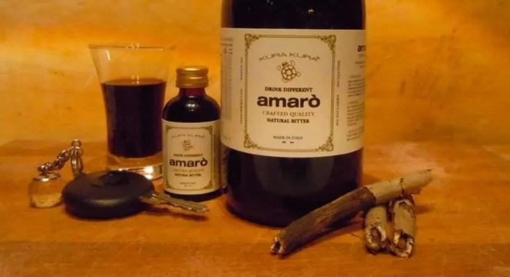 AMARO BITTER KURA KURA DRINKS E COCKTAILS 1R