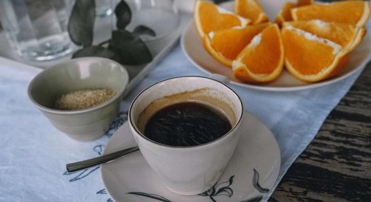 Preparazione Grappa con Arancia e Caffe Ricetta