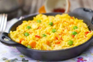 Arroz con Peas and Peppers Recipe
