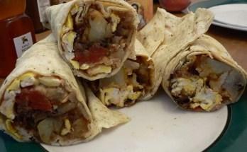 Preparazione Burritos alle Verdure