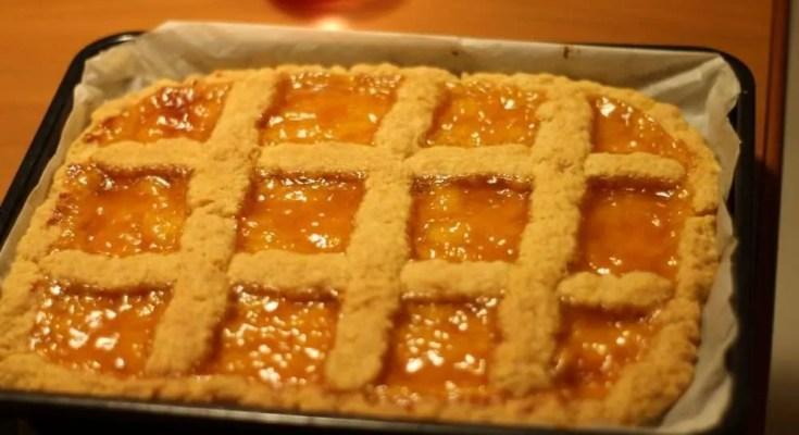 Crostata di marmellata di nonna Jessica ricetta