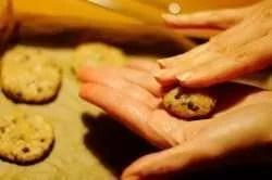 Biscotti integrali con gocce di cioccolato di nonna Jessica ricetta