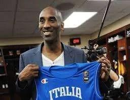 amore di Kobe Bryant per l'Italia
