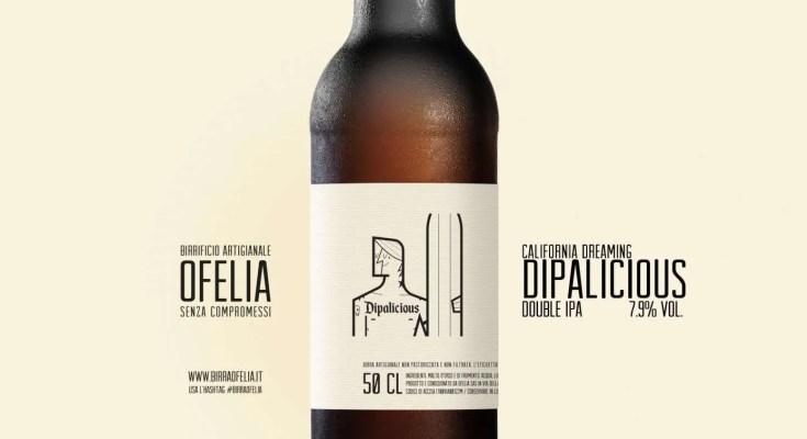 Dipalicious double ipa birra artigianale Ofelia