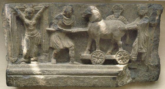 Relevo da cultura Gandhara