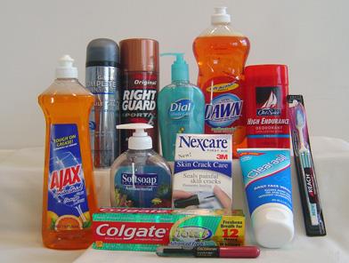Produtos que contêm Triclosan