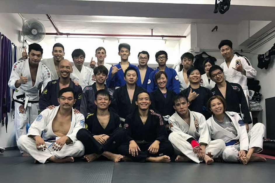 Training with Ken Man in Hong Kong