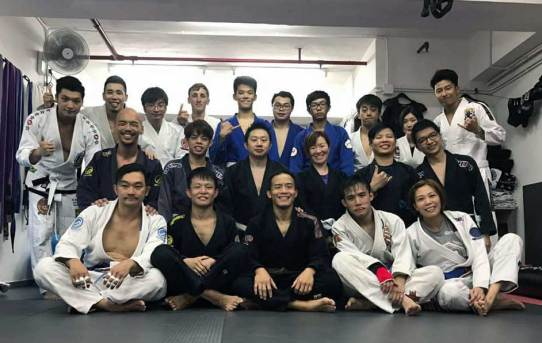 Training with Ken Man in Hong Kong