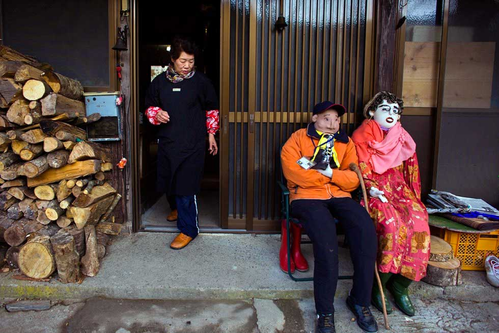 Nagoro Scare crow village in Japan
