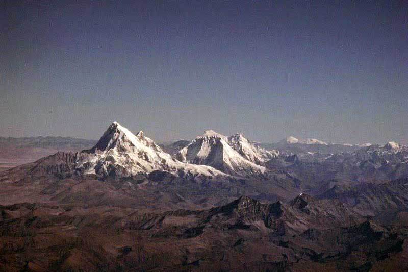 Worlds highest unclimbed mountain - Gangkhar Puensum