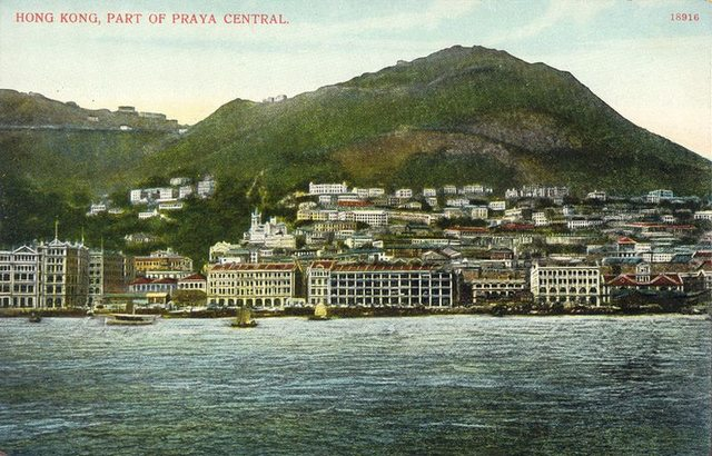 History of Hong Kong's skyline