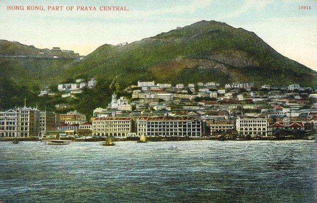 History of Hong Kong's skyline