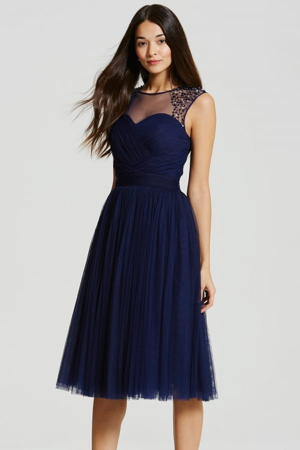 Curiouskeeda - Fashion - Blue Dress