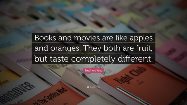 Curiouskeeda - Books vs Movies - Quote