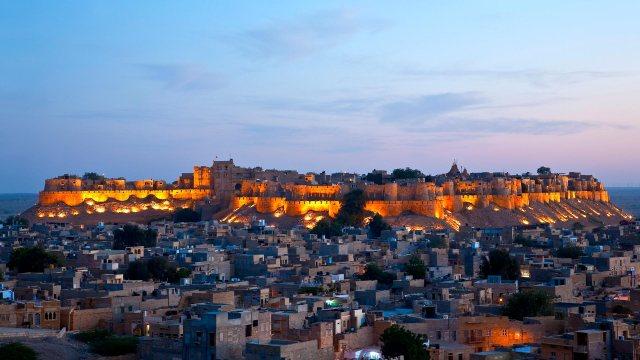 Fort de Jaisalmer au Rajasthan, India