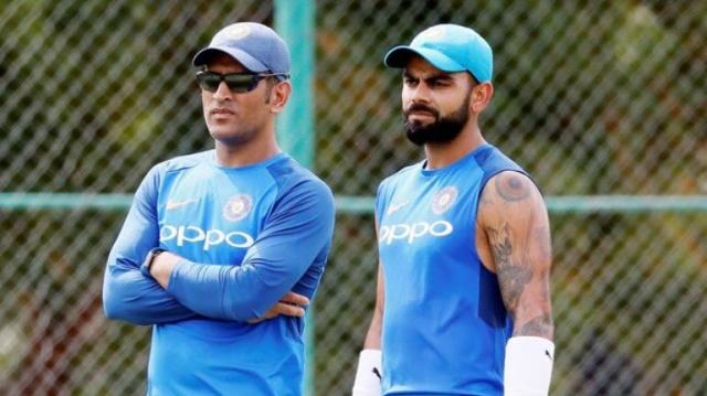 Dhoni and Kohli