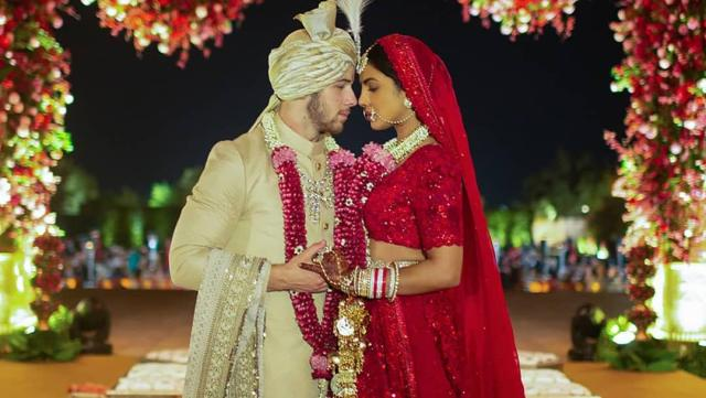 Priyanka Chopra Bollywood Star Wedding Dress