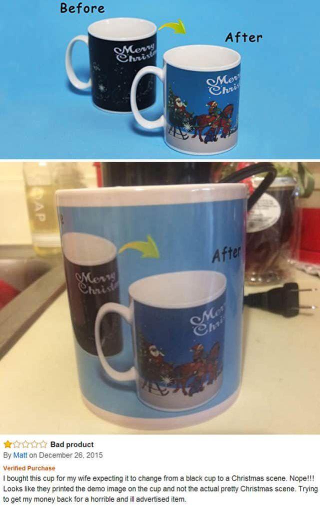 Mug Shopping Fail