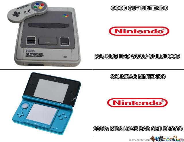 Childhood then vs now memes