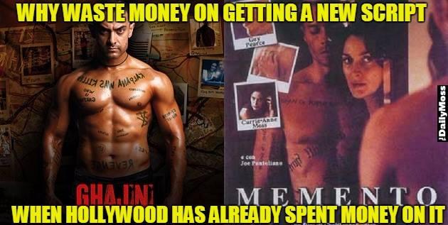 Bollywood Ghajni Memes