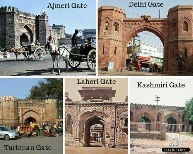 Delhi gates