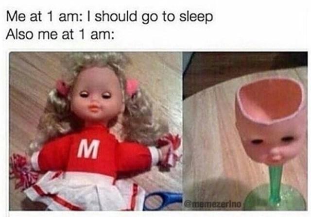 sleep funny memes