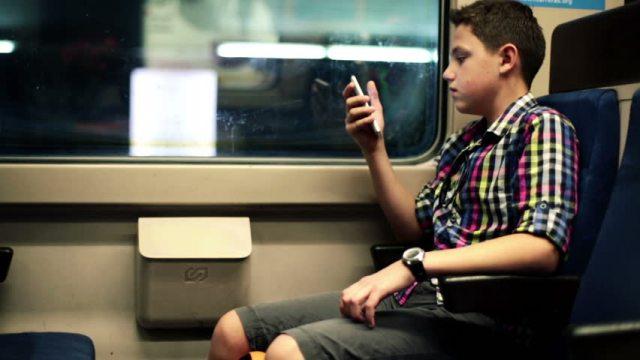 Texting in metro