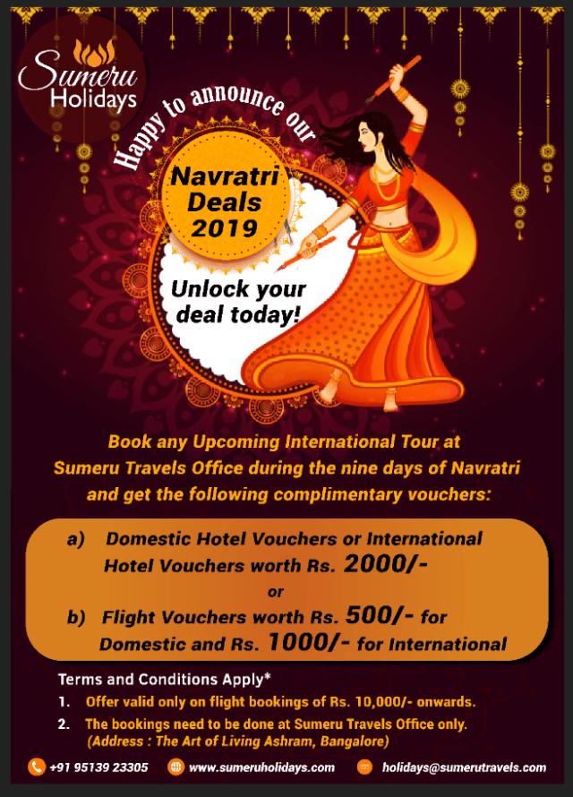 Navratri Garbha Deals
