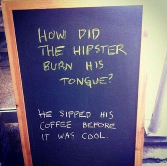 coffee signboard
