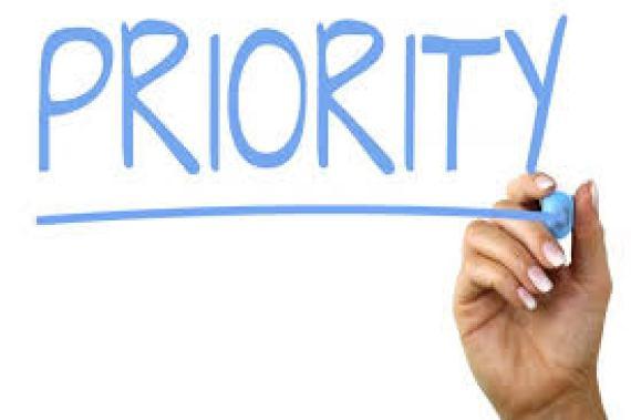 priority in life