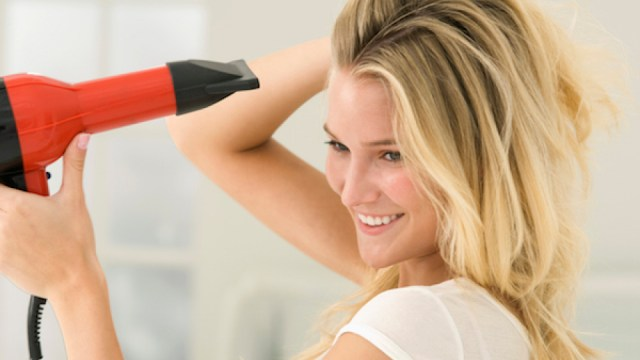 drying your hair
