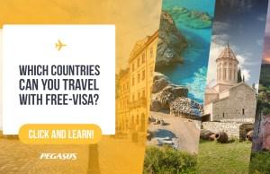 Visa free places to visit