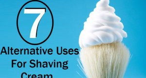 7 Alternative Uses Of The Shaving Cream