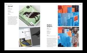 Spread for Desktop magazine - Project Wall