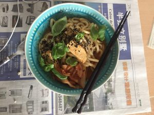Read more about the article Oishi Kimchi Udon