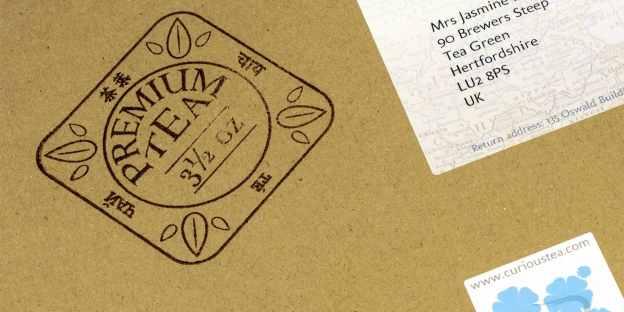 Premium tea stamp