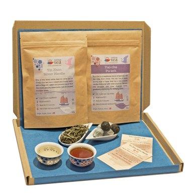 Tea subscription box