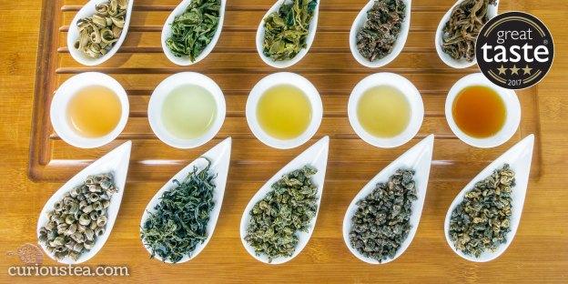 Great Taste Awards 2017 Curious Tea Winning Teas
