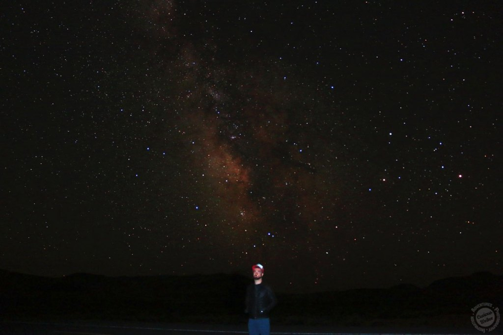 Starry desert sky - west coast road trip