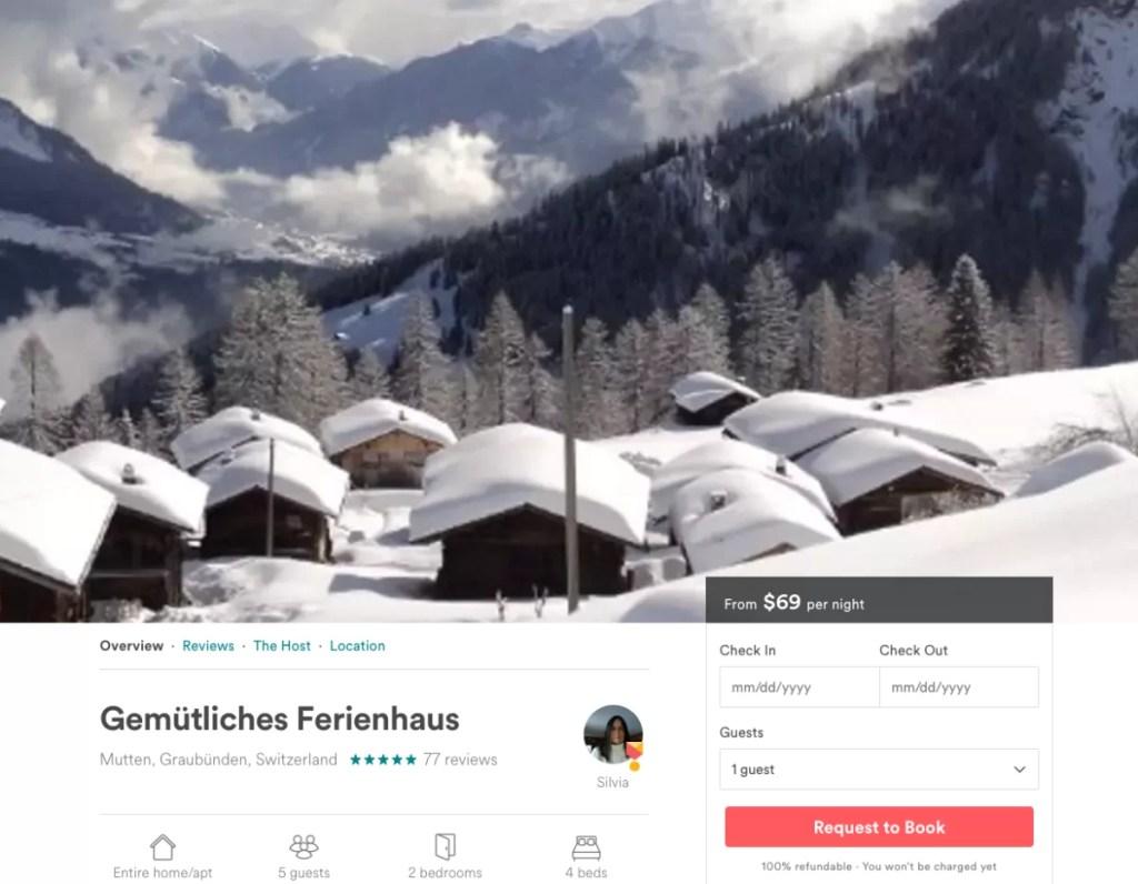 airbnb-swiss-chalet