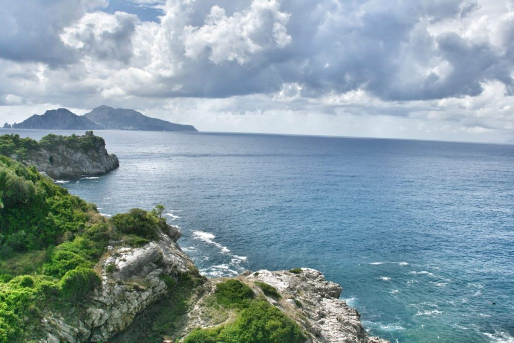 Italian coast