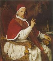 La influenza tiene su origen en Benedicto XIV