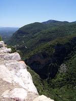 La roca Tarpeya y el monte Taigeto
