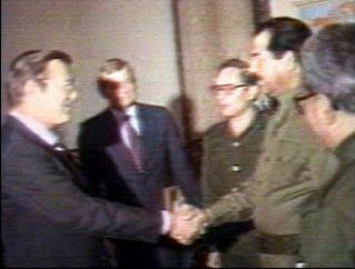 Saddam Husein es nuestro cabrón
